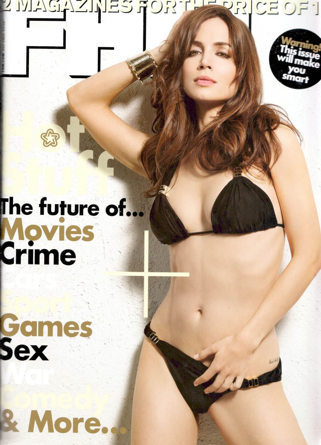 Eliza Dushku Bikini Pictures In FHM Magazine