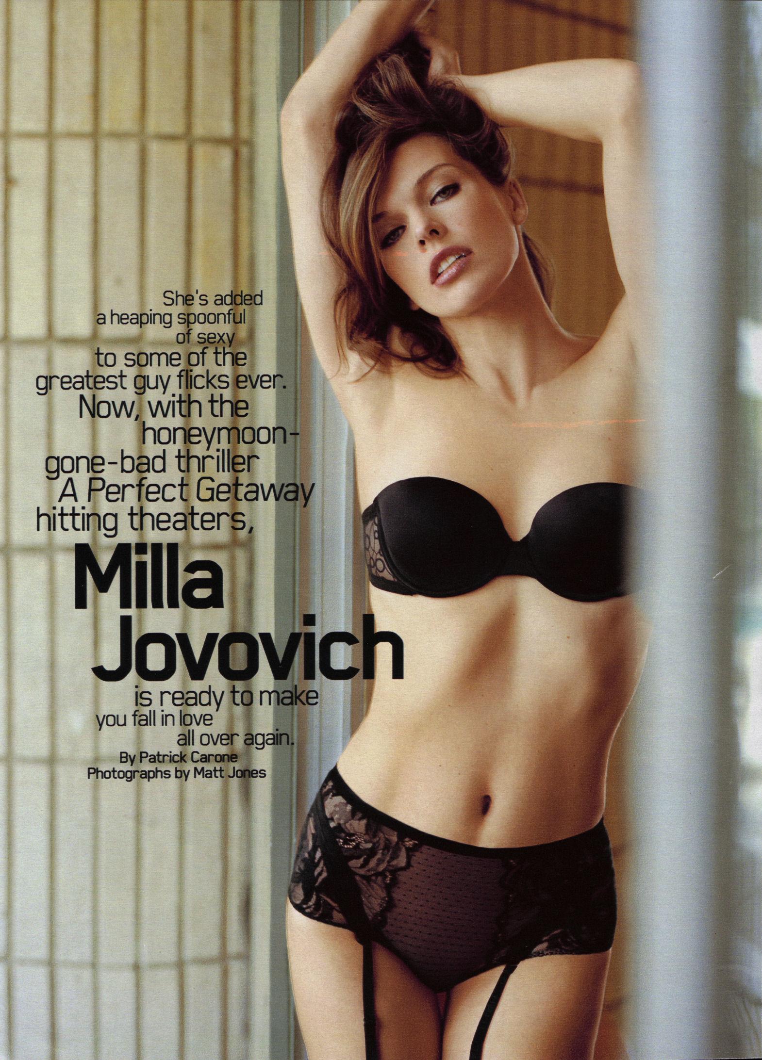 milla jovovich fucked