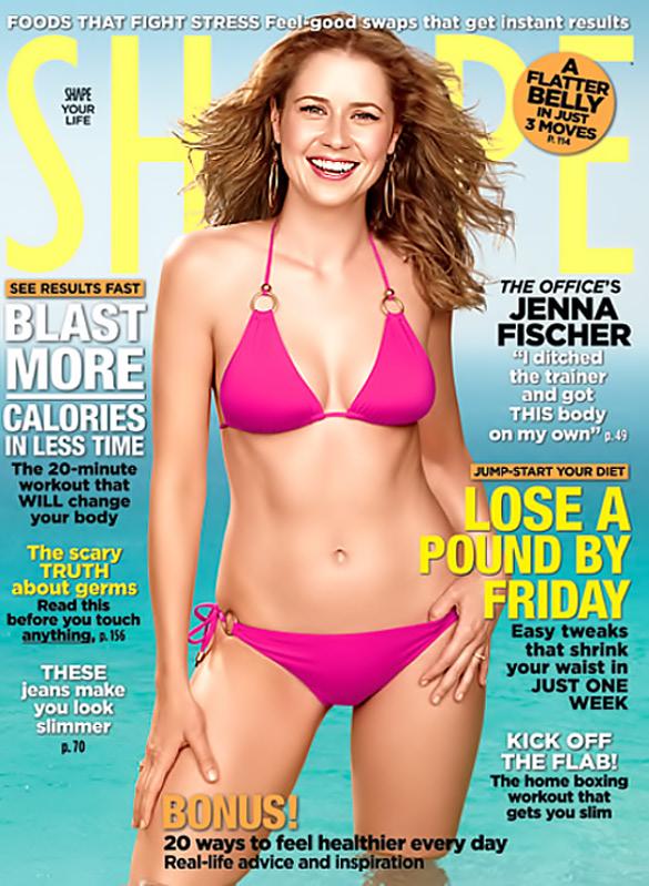 Jenna Fischer Talks About Postpartum Body And Breastfeeding